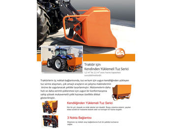 Epandeur de sable GALEN SALT/SAND SPREADER