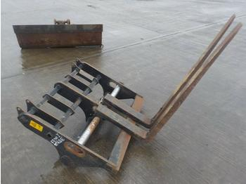 Fork Carriage & Forks to suit Manitou Telehandler - fourches