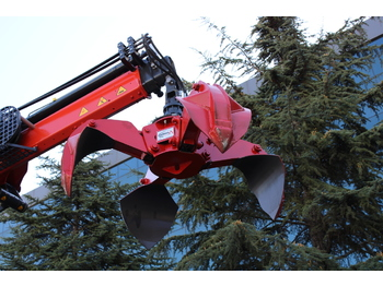 Grappin 0.3 m3 Polyp Grapple for Recycling Crane MIKRON