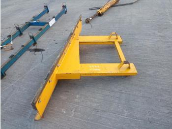 "71"" Plough to suit Forklift - lame"