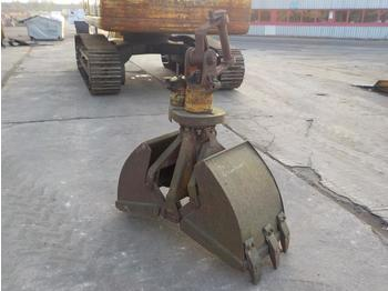 Rotating Clamshell Bucket - marteau hydraulique