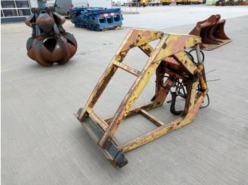 Hydraulic Rotating Block Grab to suit Crane - pinces