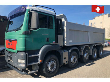 MAN TGS 41.480   10x4  - camion benne