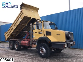 Camion benne Renault CBH 385 6x4, Manual, Steel suspension, Hub reduction