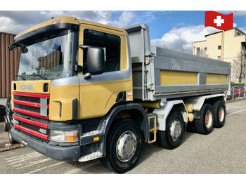 Scania P124 CB 8x4  - camion benne