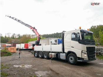 Camion plateau ridelle Volvo SOFORT! -NOW AVAILABLE ! FH540-FASSI F365A2.28