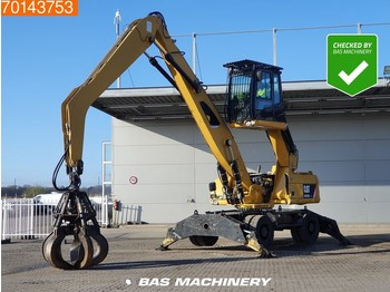Caterpillar M318 D MH INCL GRAPPLE - 80% TYRES - grue