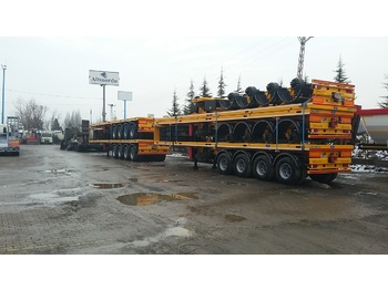 Semi-remorque porte-conteneur/ caisse mobile ALTINORDU 3 and 4 axle FLAT BED SEMI TRAILER