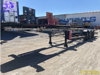 Semi-remorque porte-conteneur/ caisse mobile General Trailer Container Transport